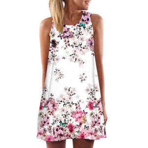 Spring Summer sweet Mini Dress
