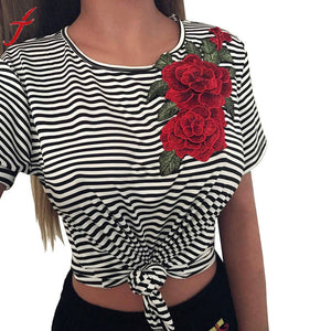 Roses fashion T-shirt