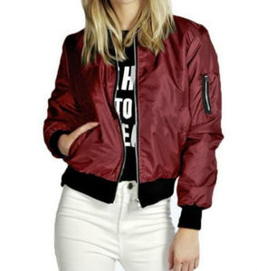 Fashion zip  Coat Jacket