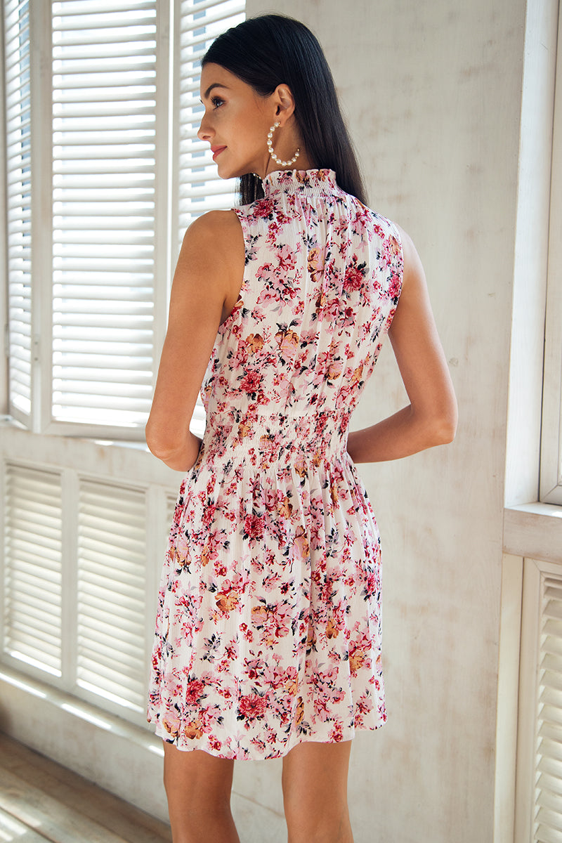 Floral romantic summer dress