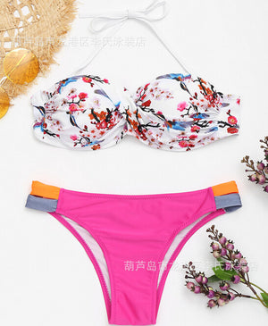 Mid Waist Bathing Suits Beachwear