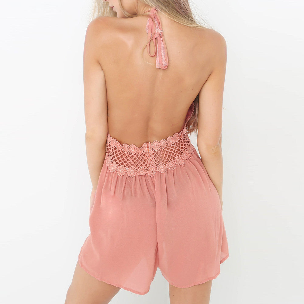 Pink Summer Mini Party Dress