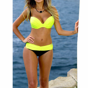 New collection  push up Summer bikini