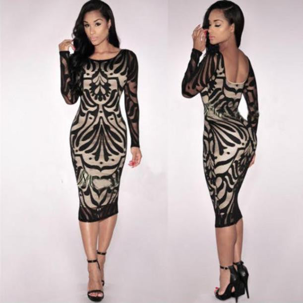 Women Sexy Bodycon Dress