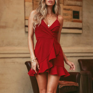 Women's Summer V-neck dress