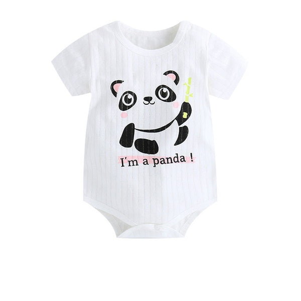 Baby Boy Animal Cartoon Rompers