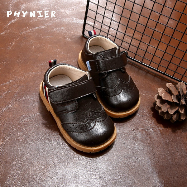 Baby Girls British Style Fashion Leather Shoes