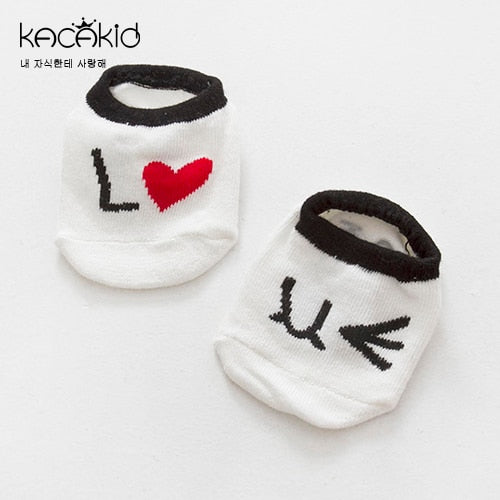 Baby Boy Animated No-slip Infant Socks