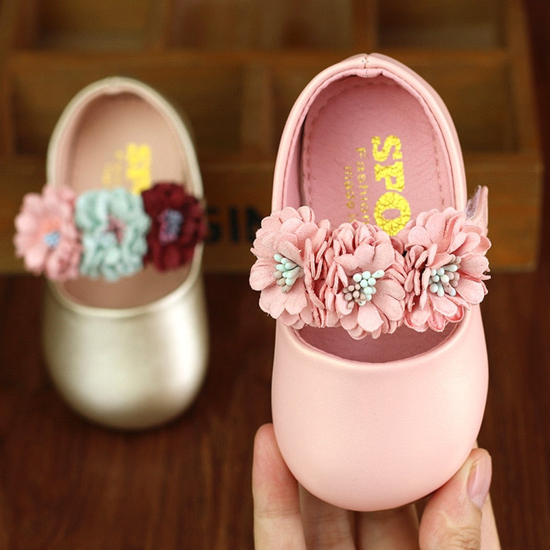 Baby Girls Princess Leather Shoes