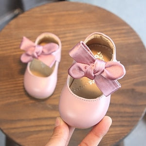 Cute Baby Girls Flat Ballerina Shoes