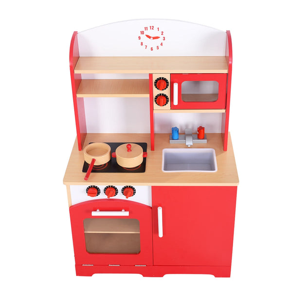 Kids Cooking Pretend Play Toy Kitchen Set C137