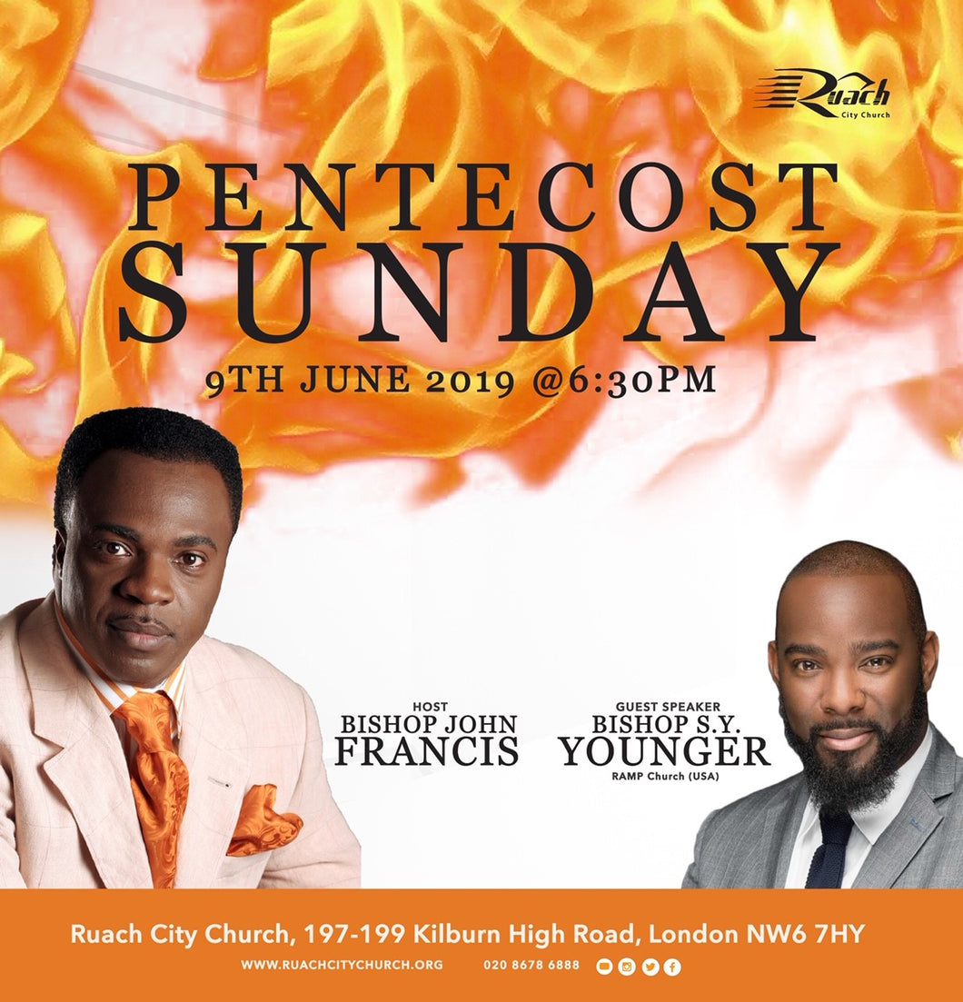 Pentecost 2019 - Bishop S. Y. Younger