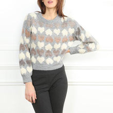 Load image into Gallery viewer, hearts sweater