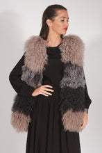 Load image into Gallery viewer, Cara Mogolian Tibet Lamb Vest