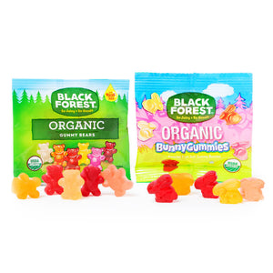 Organic Gummy Bunnies & Bears