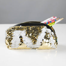Load image into Gallery viewer, mermaid sequin cosmetic pouch