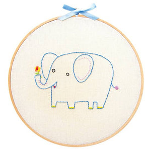 embroidery wall art kit
