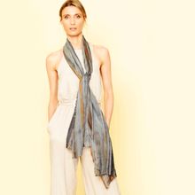 Load image into Gallery viewer, Silk Skinny Scarf