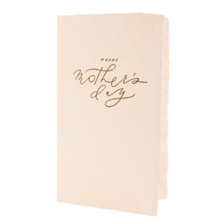 Happy Mother's Day Calligraphy Note Card