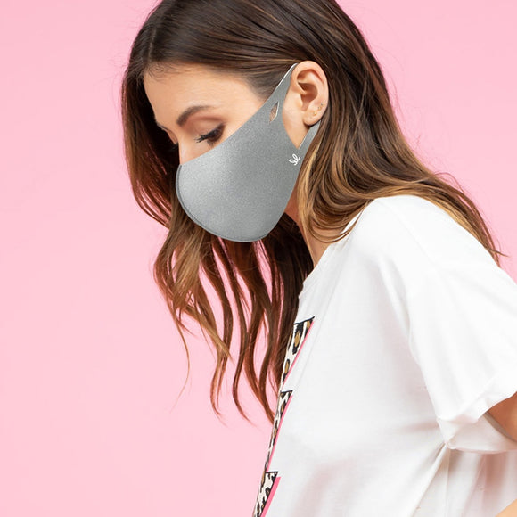 Adult Grey Anti-Bacterial Mask