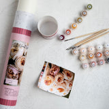 Printed Canvas Paint by Numbers Kits