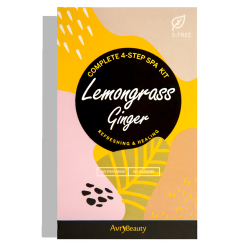 Lemongrass & Ginger 4 Step Spa Kit