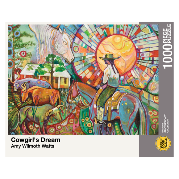 Cowgirl's Dream Puzzle by Amy Wilmoth Watts
