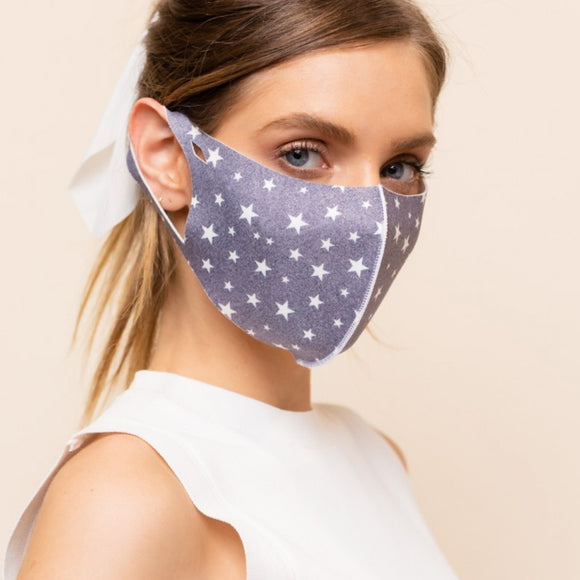 Blue Star Mask