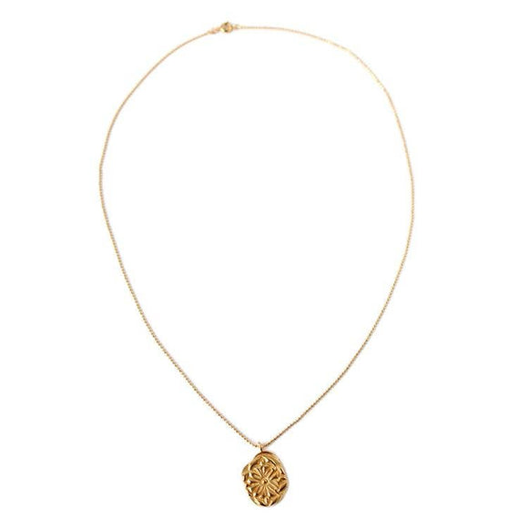 Ilaria Gold Pendant Necklace