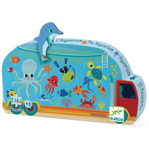 Aquarium Mini Jig Saw Puzzle
