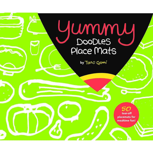 Yummy Doodles Place Mats Coloring Book