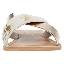 Load image into Gallery viewer, Matisse Gold Spot Pebble Sandal