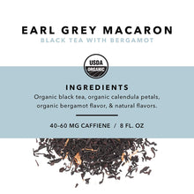 Load image into Gallery viewer, Earl Grey Macaron Loose Leaf Tea