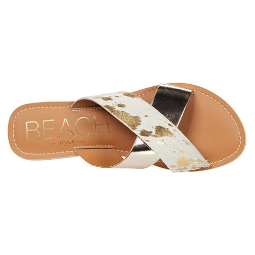 Matisse Gold Spot Pebble Sandal