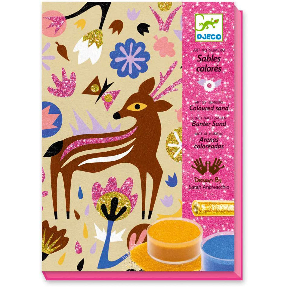 Djeco Sables et Paillettes Glitter Art Board Set