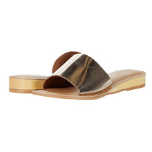 Load image into Gallery viewer, Matisse Gold Tiki Sandal