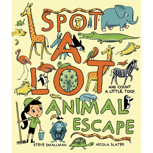 Spot A Lot! Animal Escape