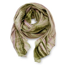 Load image into Gallery viewer, Watercolor Silk Scarf