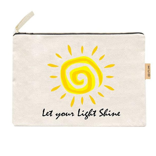 Summer Canvas Pouch