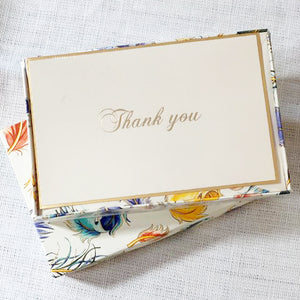 Rossi 1931 Italian Stationary Thank You Card Set