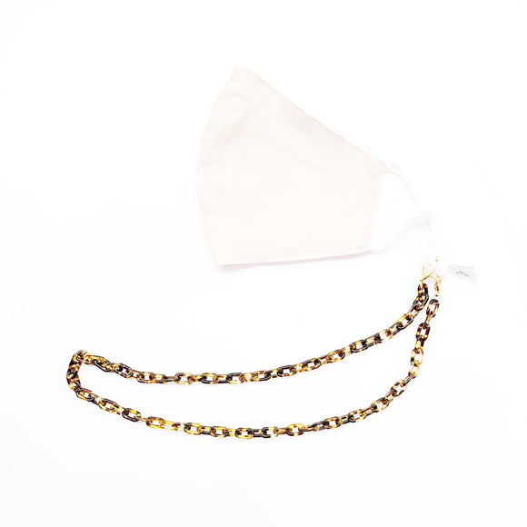 Tortoise Shell Link Mask Chain