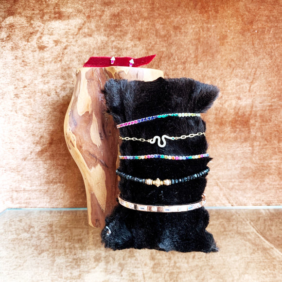 Bracelet & Earrings Stack