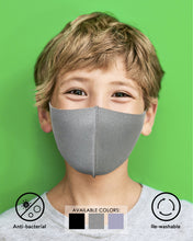 Load image into Gallery viewer, Kids Anti-Bacterial Mask            FACES OF HEROES PROJECT