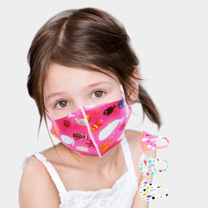 kids sea life face mask