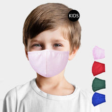 Load image into Gallery viewer, Kids 100% Cotton Mask