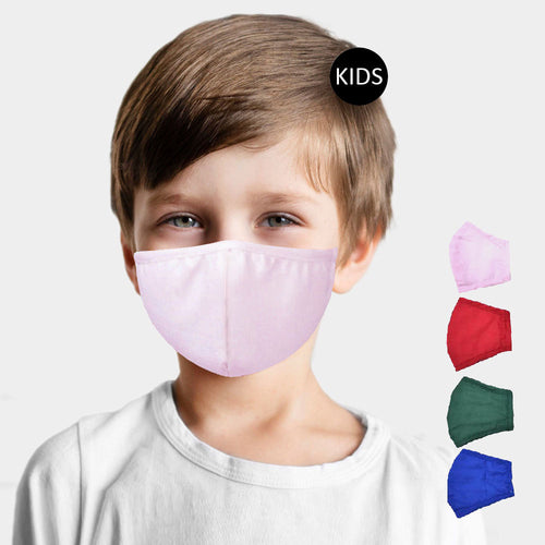 Kids 100% Cotton Mask
