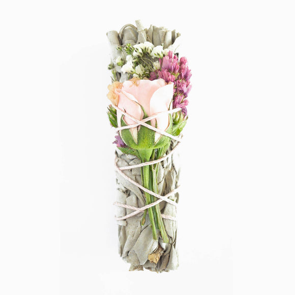 Floral Smudge Stick Bundles