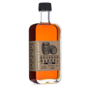 Bourbon Barrel Aged Pure Maple Syrup