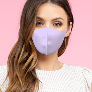 Adult Lavender Anti-Bacterial Mask FACES OF HEROES PROJECT