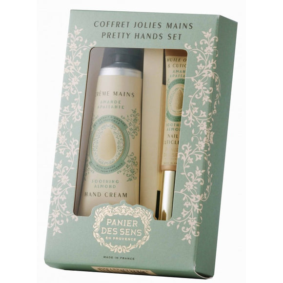 Soothing Almond Pretty Hands Cream Gift Set